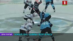 """Хоккей. КХЛ. """"Зубры"""" летят в Ригу Хакей. КХЛ. """"Зубры"""" ляцяць у Рыгу"""