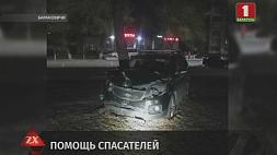 В Барановичах при ликвидации аварии понадобилась помощь спасателей