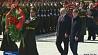 Глава государства принял участие в церемонии возложения венков к монументу Победы  Кіраўнік дзяржавы прыняў удзел у цырымоніі ўскладання вянкоў да манумента Перамогі  Alexander Lukashenko attends wreath-laying ceremony at Victory Monument