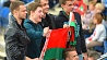 Сборная Беларуси выиграла у команды Германии 5:2 Зборная Беларусі выйграла ў каманды Германіі 5:2 Belarusian hockey team defeats Germany 5-2