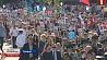 Праздник в Гродно начался c мероприятий на Кургане Славы Свята ў Гродне пачалося з мерапрыемстваў на Кургане Славы