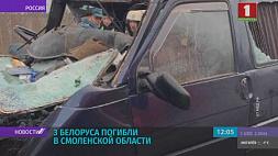 Три белоруса погибли в Смоленской области при столкновении микроавтобуса с фурой Тры беларусы загінулі ў Смаленскай вобласці ў выніку сутыкнення мікрааўтобуса з фурай