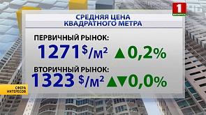 Столичные новостройки продолжают дорожать, затишье на вторичном рынке Минска