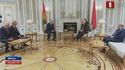 Президент встретился с Председателем ПА ОБСЕ Георгием Церетели Прэзідэнт сустрэўся  са Старшынёй ПА АБСЕ Георгіем Цэрэтэлі
