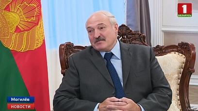 Возможности углубления интеграции обсудили в Могилеве президенты Беларуси и России