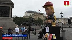 Лондон встречает Трампа протестами Лондан сустракае Трампа пратэстамі