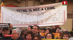 В Барселоне  сотни тысяч человек вышли на улицы  в поддержку бывших лидеров Каталонии У Барселоне  сотні тысяч чалавек выйшлі на вуліцы  ў падтрымку былых лідараў Каталоніі