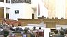 Законопроект об амнистии принят депутатами в первом чтении Законапраект аб амністыі прыняты дэпутатамі ў першым чытанні Belarusian MPs adopt amnesty bill at 1st reading