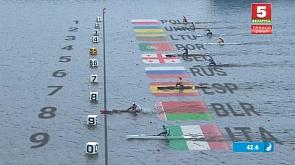 Медальную копилку сборной Беларуси на II Европейских играх пополнили гребцы