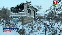 Бетонная плита стала настоящим яблоком раздора в одном из дачных поселков под Минском