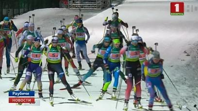 В программе чемпионата Европы по биатлону сегодня две спринтерские гонки
