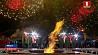 Празднование 9 мая завершил масштабный концерт у Вечного огня в центре Минска Святкаванне 9 Мая завяршыў маштабны канцэрт ля Вечнага агню ў цэнтры Мінска May 9 festivities crowned by large-scale concert at Eternal Flame in center of Minsk