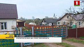 В Беларуси сегмент дач теряет популярность