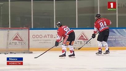 В Минске стартовал Рождественский турнир. Первыми вышли на лед сборные Словакии и Швейцарии