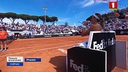 Виктория Азаренко играет за выход в полуфинал  на теннисном турнире в Риме Вікторыя Азаранка гуляе за выхад у паўфінал  на тэнісным турніры ў Рыме