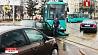 Две аварии с участием трамваев  в Минске Дзве аварыі з удзелам трамваяў у Мiнску