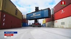 1000 контейнеров с белорусской продукцией планируется отправить в Китай по железной дороге Не менш за тысячу кантэйнераў з беларускімі прадуктаміпа чыгунцы  плануецца адправіць ў Кітай  This year at least 1000 containers of Belarusian products to be sent to China by railway