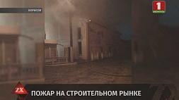 Спасатели выясняют, что могло послужить причиной пожара в Борисове