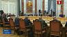 Продолжается официальный визит Президента Узбекистана в Беларусь Працягваецца афіцыйны візіт Прэзідэнта Узбекістана ў Беларусь