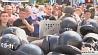 Число жертв столкновений у стен Верховной рады в Киеве достигло трех