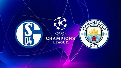 """Футбол. Лига чемпионов. 1/8 финала. """"Шальке"""" - """"Манчестер Сити"""" 2:3"""