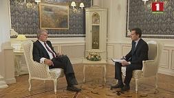 Эксклюзивное интервью с Виктором Ющенко, третьим президентом Украины  Эксклюзіўнае інтэрв'ю з трэцім прэзідэнтам Украіны  Віктарам Юшчанкам