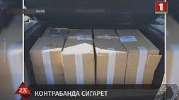 2,5 тысячи пачек сигарет с белорусскими акцизными марками обнаружили литовские пограничники
