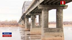 Сегодня движение транспорта по мозырскому мосту через Припять  частично закрывается Сёння рух транспарту па мазырскім мосце цераз Прыпяць часткова закрываецца