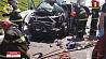 На  Минской кольцевой сегодня столкнулись четыре автомобиля На  Мінскай кальцавой сёння сутыкнуліся чатыры аўтамабілі