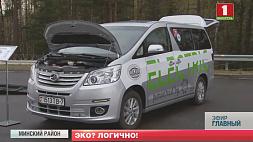 Президент на неделе оценил последние модели электротранспорта на испытательном полигоне Академии наук