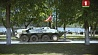 Украшением колонны стала презентация новинки белорусского военпрома - БТР-70-МБ-1 Упрыгажэннем калоны стала прэзентацыя навінкі беларускага ваенпрама - БТР-70-МБ-1