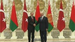 Церемония официальной встречи Президента Республики Беларусь А.Г.Лукашенко и Президента Турции