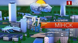 Прогноз погоды на 4 июня Прагноз надвор'я на 4 чэрвеня