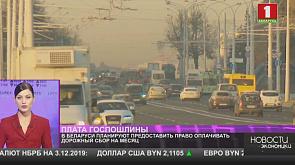 В Беларуси планируют предоставить право оплачивать дорожный сбор на месяц