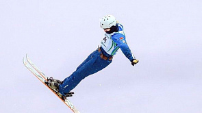 Белорусы завоевали бронзу в синхронных прыжках на этапе КМ по фристайлу в Раубичах