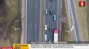 Эксперты: получение льгот при растаможке транспортного средства не повлияют на равновесие рынка