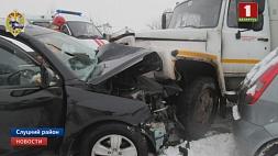 В Слуцком районе погиб 19-летний непристегнутый водитель-бесправник  У Слуцкім раёне загінуў 19-гадовы непрышпілены вадзіцель-бяспраўнік
