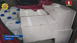В Россонском районе задержали крупную партию нелегального алкоголя У Расонскім раёне затрымалі буйную партыю нелегальнага алкаголю