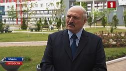 Александр Лукашенко посетил деревню спортсменов в Минске и пообщался с прессой Аляксандр Лукашэнка наведаў вёску спартсменаў у Мінску і пагутарыў з прэсай