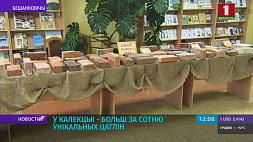 Коллекцию более чем из сотни кирпичей собрал житель Бешенковичей