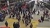 Продолжают забастовку железные дороги Франции Працягваюць забастоўку  чыгункі Францыі
