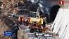 Обрушение в железнодорожном тоннеле на юго-востоке Франции Абвальванне ў чыгуначным тунэлі на паўднёвым усходзе Францыі