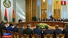 Президент ждет от Мингорисполкома серьезной борьбы с бюрократией и коррупцией Прэзідэнт чакае ад Мінгарвыканкама сур'ёзнай барацьбы з бюракратыяй і карупцыяй Alexander Lukashenko holds meeting on unsolved problems with members of Minsk City Executive Committee