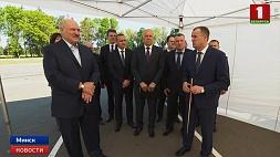 Александр Лукашенко протестировал Минскую кольцевую в преддверии ІІ Европейских игр Аляксандр Лукашэнка пратэсціраваў Мінскую кальцавую перад ІІ Еўрапейскімі гульнямі Alexander Lukashenko tests Minsk Ring Road on threshold of II European Games