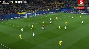 Футбол. Лига Европы УЕФА. 1/4 финала. Обзор (11.04.2019)