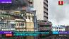 Сильный пожар вспыхнул в торговом комплексе в нигерийском портовом городе Лагос