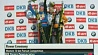 Дарья Домрачева одержала очередную победу  Дар'я Домрачава атрымала чарговую перамогу  Darya Domracheva wins pursuit at Biathlon World Cup in Nove Mesto