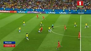 Сегодня определится вторая пара полуфиналистов чемпионата мира по футболу Сёння вызначыцца другая пара паўфіналістаў чэмпіянату свету па футболе