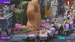 В Таиланде отмечают день слона У Тайландзе адзначаюць дзень слана