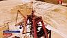 """Предприятие """"Славкалий"""" завершает монтаж копра клетевого ствола на Нежинском горно-обогатительном комбинате Прадпрыемства """"Слаўкалій"""" завяршае мантаж копра клецевага ствала на Нежынскім горна-абагачальным камбінаце"""